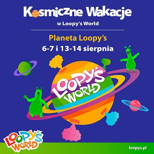 Kosmiczne Wakacje w Loopy's World