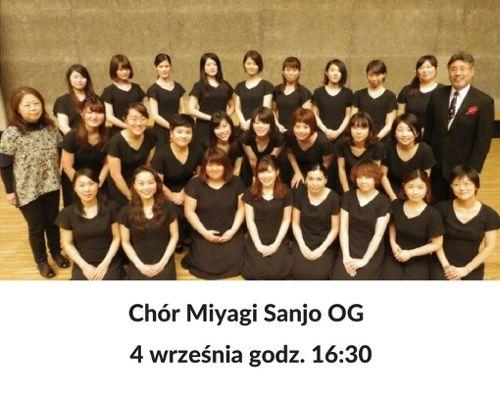 Koncert chóru japońskiego Miyagi Sanjo OG