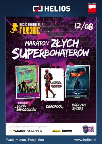 Maraton złych superbohaterów Sensacyjny | Inne