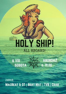 Holy Ship! 2016