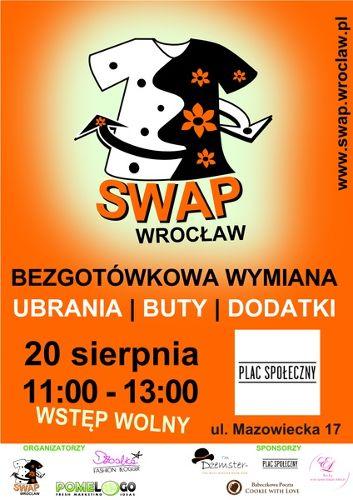 Bezgotówkowa wymiana ubrań SWAP Wrocław