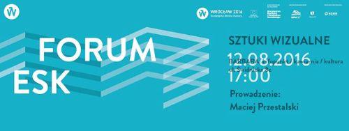 Forum ESK: sztuki wizualne