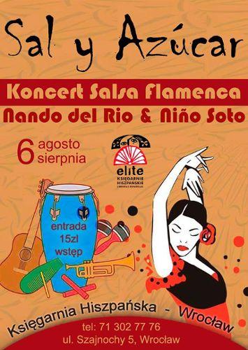 Flamenco w księgarni Hiszpańskiej