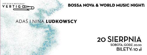Nina i Adaś Ludkowscy w klubie Vertigo
