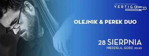 Olejnik & Perek Duo w klubie Vertigo