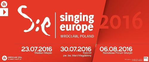 Singing Europe 2016 – koncert w NFM