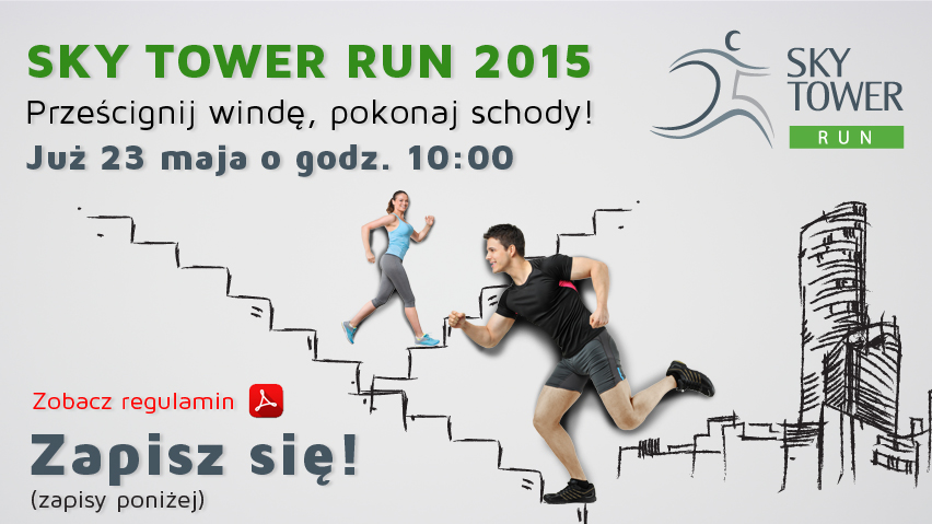 II edycji Sky Tower Run 2015