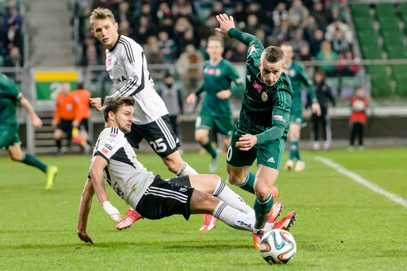 Mecz piłkarskiej ekstraklasy Śląsk Wrocław - Górnik Zabrze