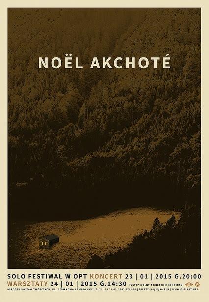 Solo Festiwal: koncert Noël Akchoté i warsztaty