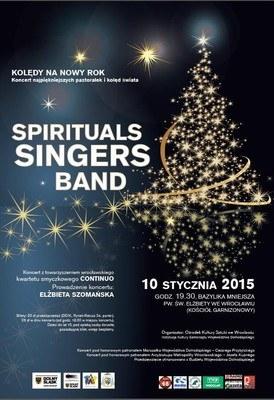 Spirituals Singers Band: Najpiękniejsze pastorałki i kolędy świata