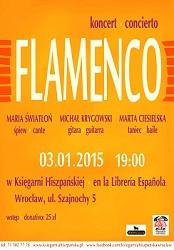 Koncert flamenco w Ksiegarni Hiszpańskiej