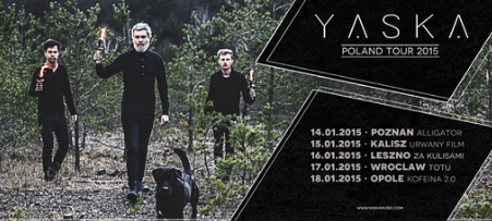 Koncert: Yaska (DE) + THE NEWSPAPER