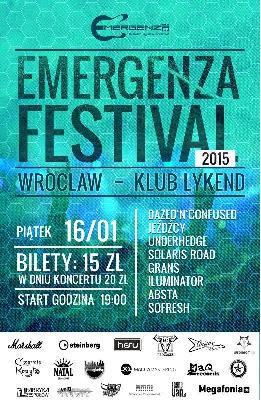 Emergenza Festival Polska w Łykendzie