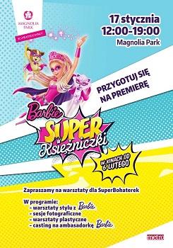 Barbie Super Księżniczki w Magnolia Park