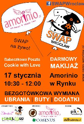 SWAP Wrocław w Rynku, czyli bezgotówkowa wymiana ubrań
