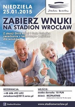 Zabierz wnuki na Stadion Wrocław