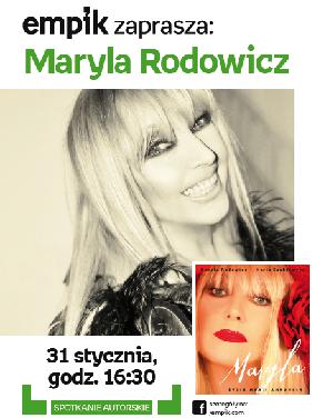 MARYLA RODOWICZ\\MARIA SZABŁOWSKA w Empiku