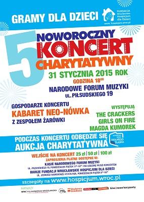 5. Noworoczny Koncert Charytatywny na rzecz podopiecznych Fundacji Wrocławskie Hospicjum dla Dzieci