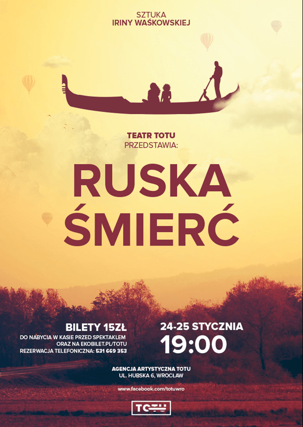 """Teatr ToTu – """"Ruska Śmierć"""""""