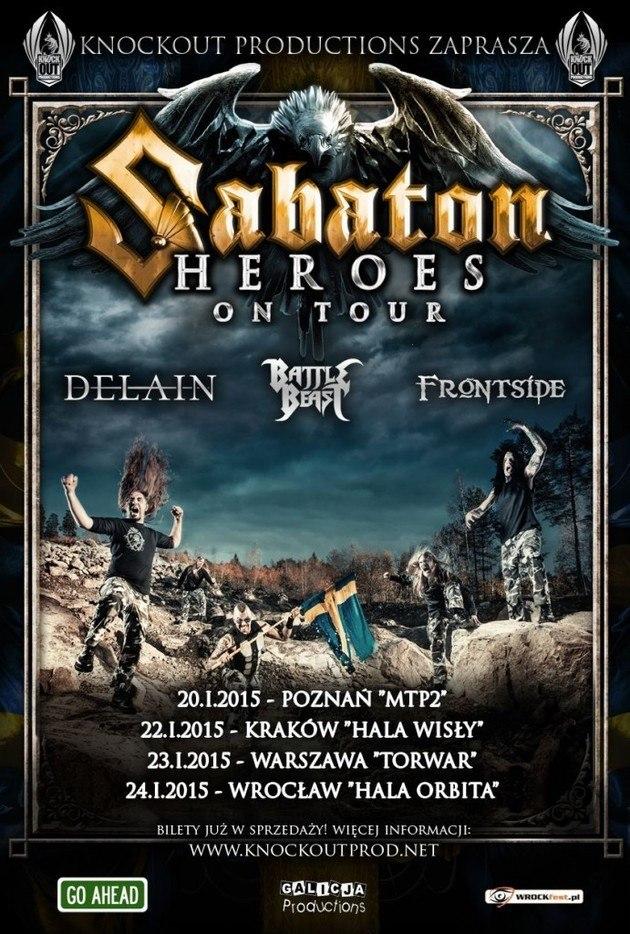 Koncert zespołu Sabaton