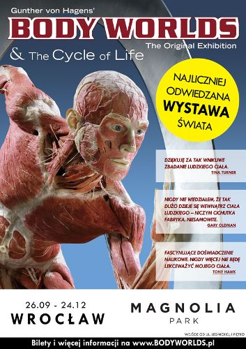Wystawa BODY WORLDS & The Cycle of Life w Magnolii