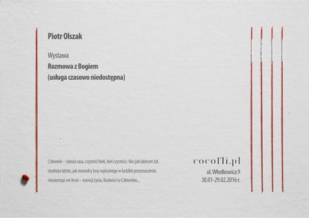 Wystawa: Rozmowa z Bogiem (usluga czasowo niedostępna) Piotr Olszak