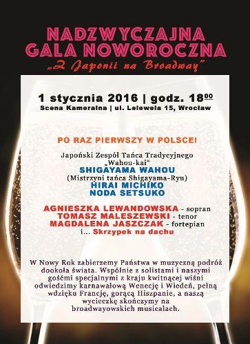 Nadzwyczajna Gala Noworoczna na scenie MMImpresario