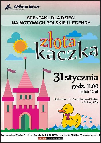 Złota Kaczka – spektakl dla dzieci