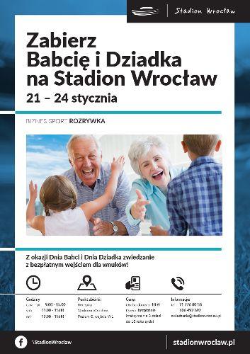 Dni Babci i Dziadka na Stadionie Wrocław