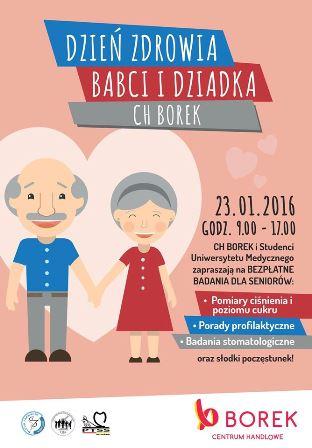 Dzień Zdrowia Babci i Dziadka w CH Borek