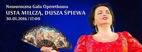 Noworoczna gala operetkowa w CK Agora