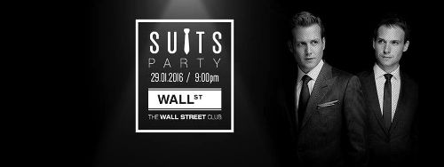 Suits Party w klubie Wall Street