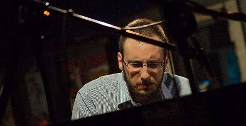 Mikołaj Gruszecki Trio w klubie Vertigo