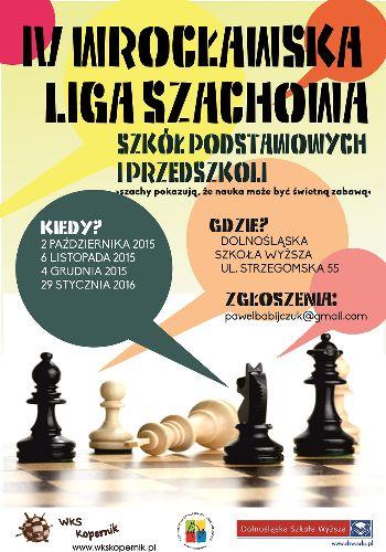 IV Wrocławska Liga Szachowa Szkół Podstawowych i Przedszkoli