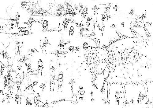 Max Ernst: rysunki