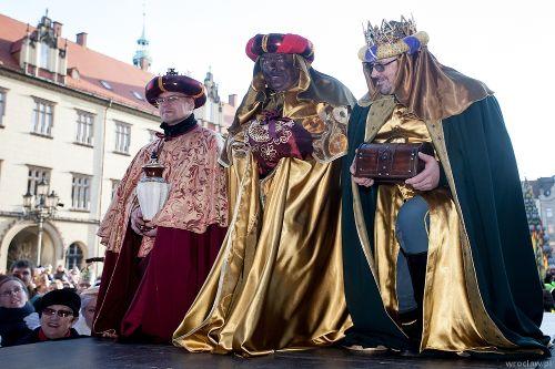 Musztra rycerska przed Orszakiem Trzech Króli