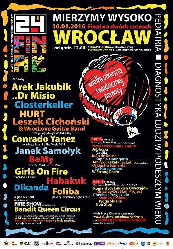 24 Finał WOŚP we Wrocławiu