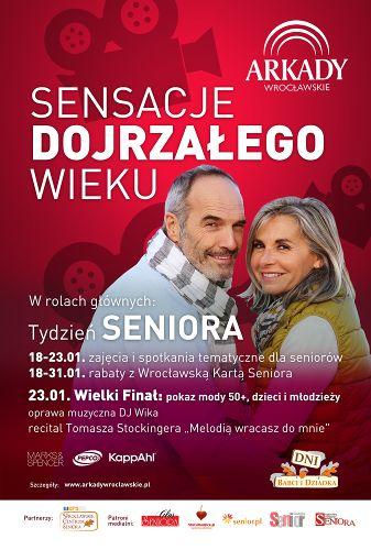 Finał Tygodnia Seniora w Arkadach Wrocławskich