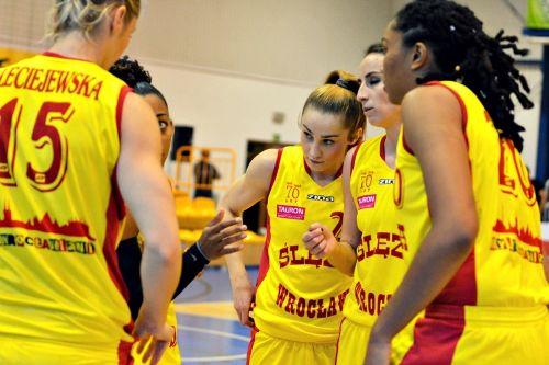 Koszykówka kobiet: Ślęza Wrocław – Basket Gdynia