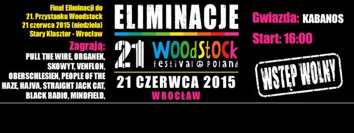 WrocLove Fest - Finał Eliminacji do Przystanku Woodstock 2015