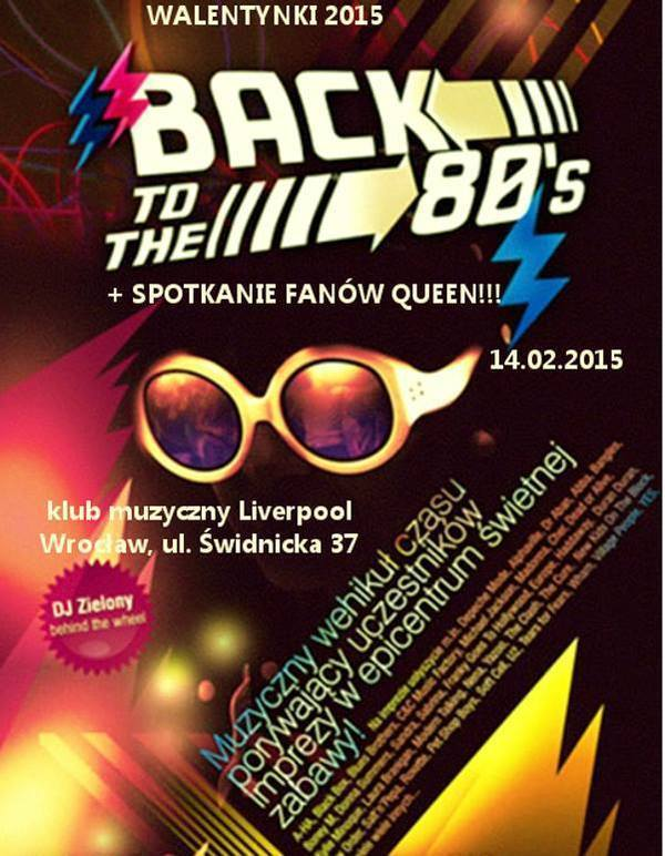 W walentynki – Back to the 80's