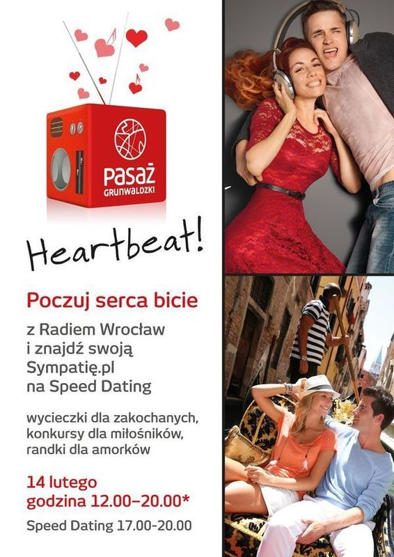 Speed Dating w Pasażu Grunwaldzkim