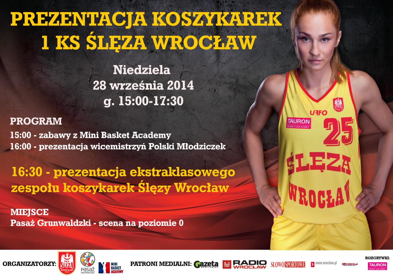 Prezentacja drużyny koszykarek Ślęzy Wrocław