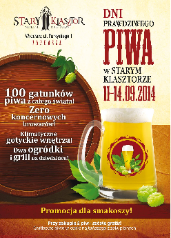 Dni Prawdziwego Piwa w Starym Klasztorze