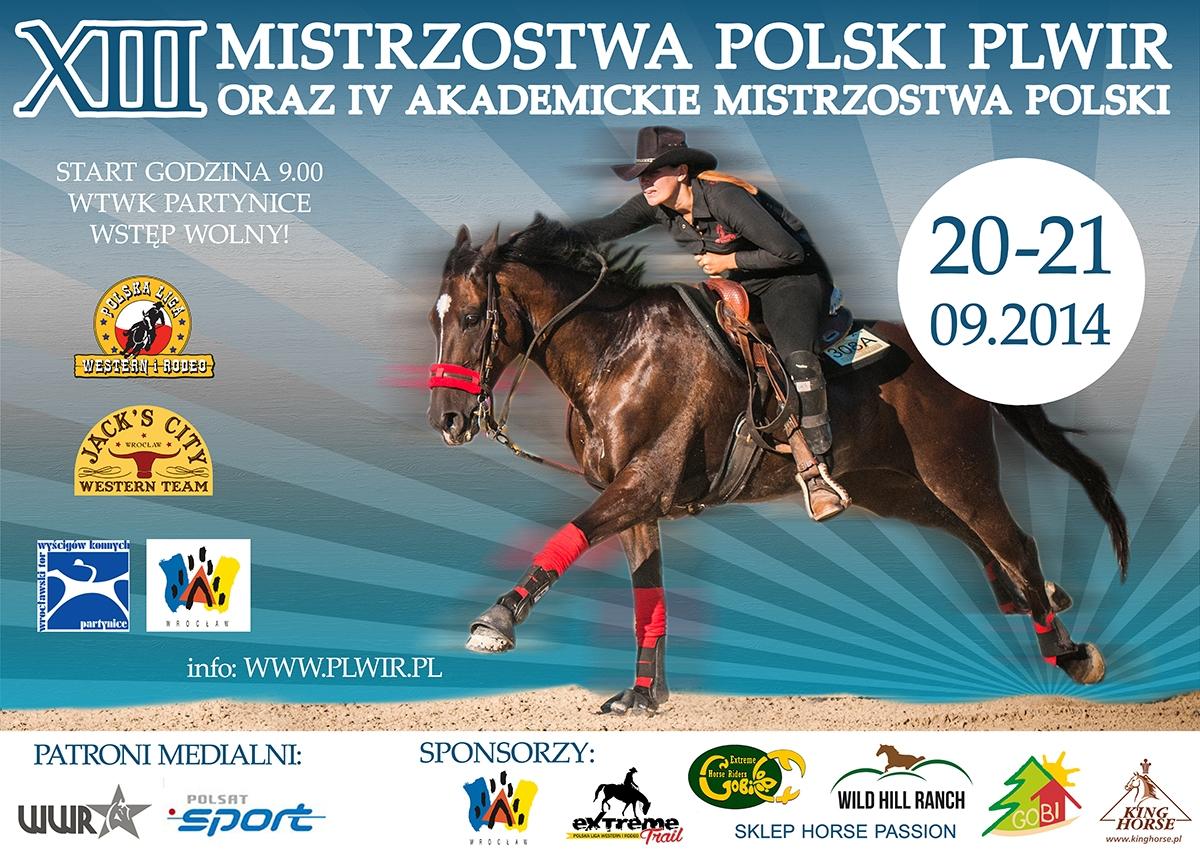 XIII Mistrzostwa Polski w jeździe western