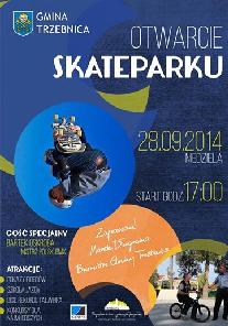 Otwarcie skateparku w Trzebnicy