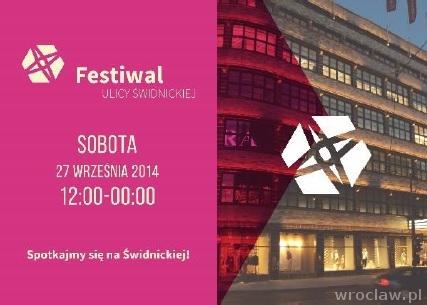 Festiwal ulicy Świdnickiej