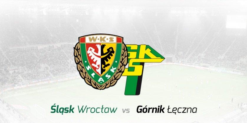 Mecz piłkarskiej ekstraklasy - Śląsk Wrocław - Górnik Łęczna