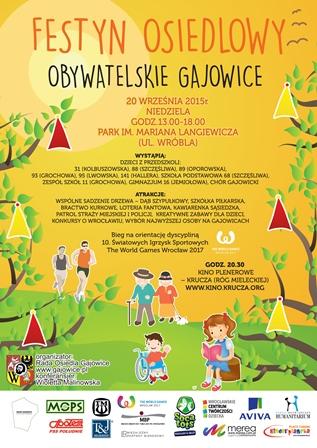 Festyn osiedlowy na Gajowicach