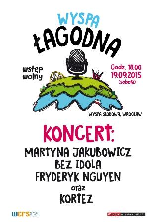 Wyspa Łagodna – koncert muzyki poetyckiej na Wyspie Słodowej
